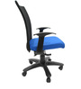 Marina WW Office Ergonomic Chair in Black & Dark Blue Colour by Chromecraft