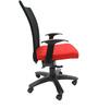 Marina WW Office Ergonomic Chair in Black & Red Colour by Chromecraft