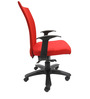 Marina WW Office Ergonomic Chair in Red Colour by Chromecraft