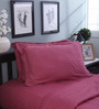 Mark Home Fine Pink Cotton Pillow Cover
