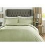 Mark Home Green 100% Cotton Queen Size Bed Sheet - Set of 3