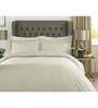 Mark Home Ivory 100% Cotton Single Size Duvet Cover