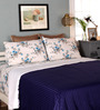 Mark Home Navy Blue Cotton Queen Size Dohar