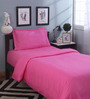 Mark Home Pink Cotton Duvet Cover