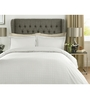 Mark Home White 100% Cotton Queen Size Bed Sheet - Set of 3