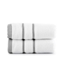 Mark Home White Cotton 16 x 24 Hand Towel - Set of 2