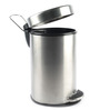 Gesign Black 7 L Dustbin