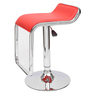 Markus Bar Chair in Red Leatherette by Starshine