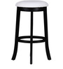 Marquess Bar Stool in Espresso Walnut Finish by Amberville