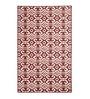 Marrakesh Flatweave Wool Area Rug Red by Riva