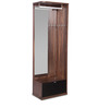 Marshal Dressing Table in Dark Walnut Finish by Godrej Interio
