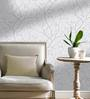 Marshalls Wallcoverings Grey & Off White Non Woven Paper Wallpaper