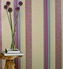 Marshalls Wallcoverings Beige Non Woven Fabric Vertical Bands Wallpaper