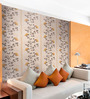 Marshalls Wallcoverings Orange Non Woven Fabric Floral Wallpaper