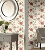 Marshalls Wallcoverings Cream Non Woven Fabric Floral Design Wallpaper