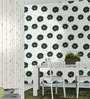 Marshalls Wallcoverings Green & White Non Woven Fabric Wallpaper