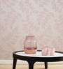 Marshalls Wallcoverings Pink Non Woven Fabric Floral Wallpaper