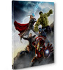 Marvel All Avengers Action Canvas Poster