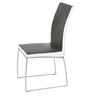 Marvel Six Seater Dining Set in White & Black Colour by Godrej Interio