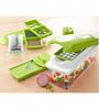 iSteel Green Plastic 8-piece Cutting Nicer Dicer Set