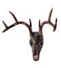 Marwar Stores Black Polyresin The Deer Skull Showpiece