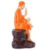 Marwar Stores Orange Polyresin The Sai Statue