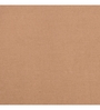 Maspar Beige Cotton Solid 108 x 108 Inch Double Bed Sheet (with Pillow Covers)
