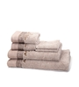 Maspar Brown 100% Cotton Bath, Hand and Face Towel - Set of 6