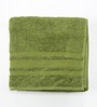 Maspar Green Cotton Bath Towel