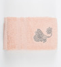 Maspar Paisley Pink Cotton Bath Towel