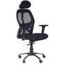 Matrix High Back Office Chair in Black Colour by Chromecraft