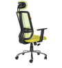 Matrix High Back Office Chair in Olive Green by BlueBell Ergonomics