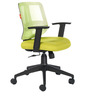 MatrixSeries B Low Back Office Chair in Green colour by BlueBell Ergonomics