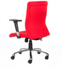 Maxima Mid Back Office Chair in Red Color by BlueBell Ergonomics