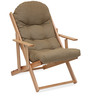 Mazda Leisure Chair in Light Brown Colour by @ Home