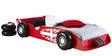 McSchumi Car Bed in Red & White Finish by Mollycoddle