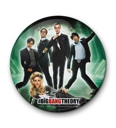 MC SID RAZZ Multicolour Iron Official The Big Bang Theory Movie Poster Fridge Magnet Licensed By Warner Bros USA