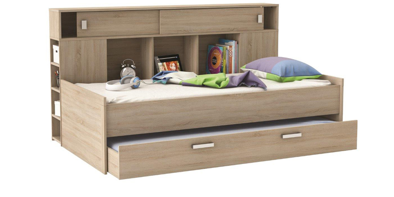 Buy Mctyler Teen Bed With Trundle Amp Storage Headboard In