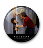 MC SID RAZZ Multicolour Metal Official Friends Joey's Choking Fridge Magnet Licensed by Warner Bros USA