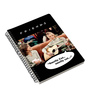 MC SID RAZZ Multicolour Paper Official Friends Smelly Cat Notebook Licensed by Warner Bros USA