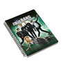 MC SID RAZZ Multicolour Paper Official The Big Bang Theory Movie Poster Notebook Licensed by Warner Bros USA