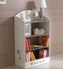 McBob Bookshelf in Chocolate & Beige Finish by Mollycoddle