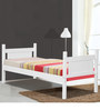 McDaniel Bunk Bed in White Finish by Mollycoddle