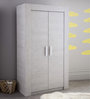 McZuriel Two Door Wardrobe in Bristol Oak Finish by Mollycoddle