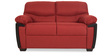 Memphis Monarch Two Seater Sofa in Rust Colour by Urban Living