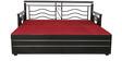 Metal Sofa cum Bed with Hydraulic Storage by Diamond Interiors