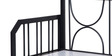 Metallic Sofa Cum Bed with Storage with Maroon Mattress by FurnitureKraft