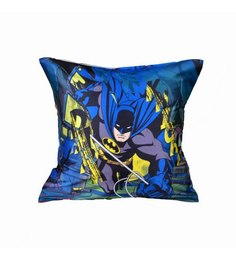 Me Sleep Blue Microfibre 16 X 16 Inch The Dark Knight Cushion Cover