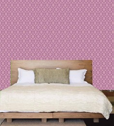 Me Sleep Purple PVC Contemporary Wallpaper
