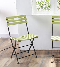 Mexico Folding Chair Green Color by Woodsworth
